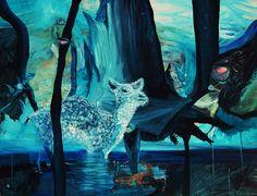 "Saatchi Online Artist: Mia-Nelle Droschler; Acrylic, 2012, Painting ""New Found Hope"""