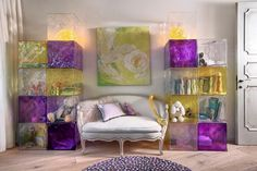 purple decor  chair How to Bring Powerful Purple into your Décor