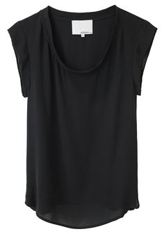 phillip lim | silk muscle tee...you know you would wear this every day