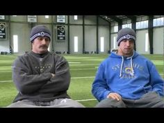 The lighter side of Chris Long and James Laurinatis - YouTube   I laughed so hard at this!!
