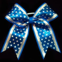 Shining Stars Cheer Bow-