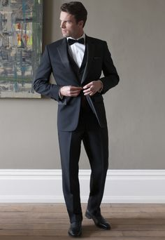 Man's Classic Dinner Suit Trousers. avana-collection.com