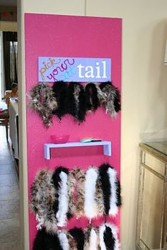 pick your cat tail - boas cut to different lengths, with safety pins to attach them :)