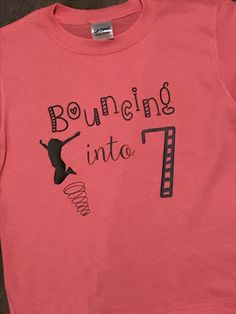 Perfect shirt for a bounce house birthday party!
