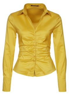 René Lezard - Blouse - yellow