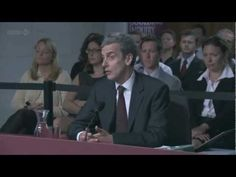 Malcolm Tucker appears before the Goolding Inquiry