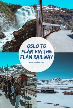 When I read that the journey from Oslo to Flåm via the Flåm Railway was one of the most beautiful in the world, I asked myself: Is it worth it? Norway Travel Guide, Europe Travel Guide, Europe Destinations, Asia Travel, Travel Guides, Train Travel, Solo Travel, Oslo, Norway In A Nutshell