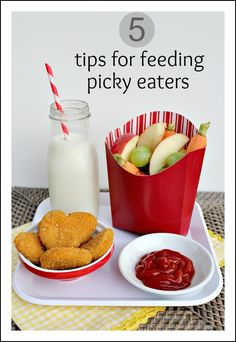 5 tips for feeding picky eaters