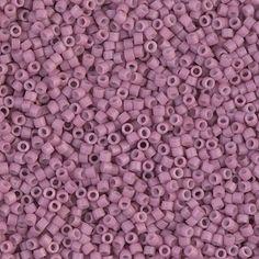 Delica 11/0 Miyuki Beads Dyed SF Op Antique Rose - DB0800