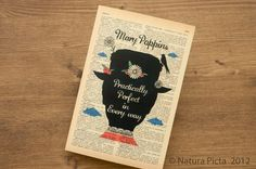Mary Poppins practically perfect in every way by naturapicta, $4.50