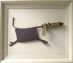 le jardin des bennes de Lilly Sunday - The Best Welding Projects Examples, Tips & Tricks Metal Art Projects, Metal Crafts, Art Crafts, Found Object Art, Scrap Metal Art, Junk Metal Art, Driftwood Crafts, Funky Art, Welding Art