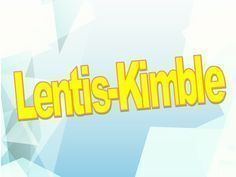 Lentis Kimble - YouTube
