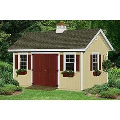 HomePlace by Suncast Studio Garden Building (10 ft. x 20 ft.)  alternate image