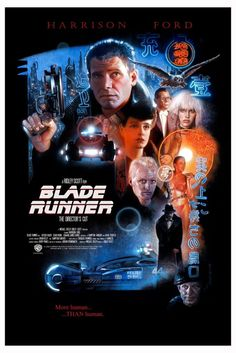 Blade Runner - Nick Runge ---- one of the greatest movies of all time.sci-fi classic ❤❤❤