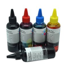 400ml CISS refill ink kit CMYKK Waterproof PIGMENT Ink For CANON,for CANON photo print Ink General for CANON all inkjet printers