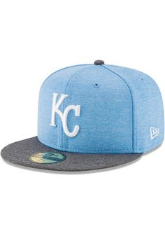 f02736e9f4f KC Royals New Era Mens Grey 2017 Fathers Day AC 59FIFTY Fitted Hat Boston  Red Sox