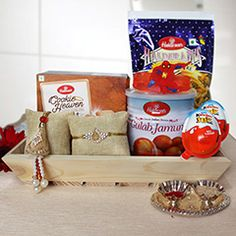 Buy Lumba rakhi with gift hampers for your bhaiya and bhabhi