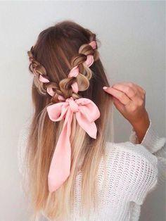 Simple Elegant Hairstyles, Formal Hairstyles For Long Hair, Wedding Bun Hairstyles, Twist Hairstyles, Hairstyles With Bangs, Hairstyle Ideas, Gorgeous Hairstyles, Boho Hairstyles, Everyday Hairstyles