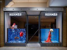 Hermes windows 2014 Summer, Japan