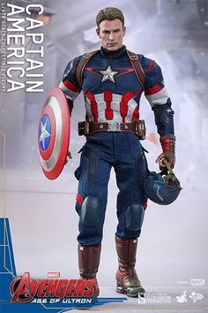Marvel Captain America Sixth Scale Figure by Hot Toys | Sideshow Collectibles