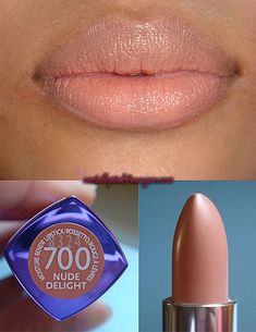 I usually don't pin makeup.... Just not me but this looks lovely. Must look for it. Rimmel nude delight.