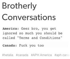 But Canada always gets accepted unlike you, America<<<Shots fired
