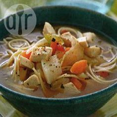 Country-Style Chicken Soup with Noodles @ allrecipes.com.au