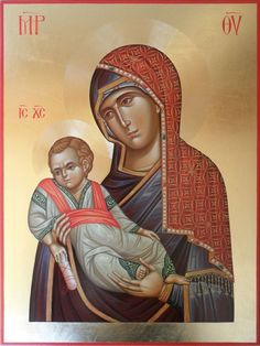 Mother Mary, Mother And Child, Orthodox Icons, Madonna, Statue, Children, Belgrade, God, Paintings