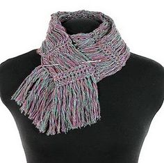 crocheted scarves are not like mom used to make!!