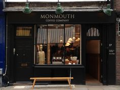 I love monmouth shop front design - london!