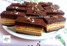 Web Confectionery – For homemade cake lovers – pastry types Hungarian Cake, Mousse, Sweet Cakes, Cookie Desserts, Homemade Cakes, Confectionery, Cake Cookies, Chocolate Cake, Tiramisu