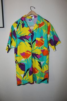 Vintage Pipeline USA Surfer Shirt Mens Christmas by CrimsonHollow, $40.00