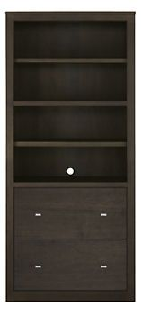 Woodwind Bookcases with Drawers - Cabinets & Armoires - Living - Room & Board