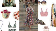 mood, summer print, 2017, beach, clothes, maillot de bain, robe, marni, mango, lunettes