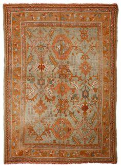 Antique Oushak Rugs (Turkish)