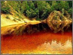 Purpurowe jeziorko k. Marciszowa, Rudawy Janowickie