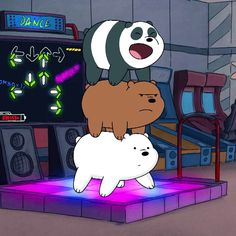 I don't know which bear l am in this picture 3 Bears, Cute Bears, We Bare Bears Wallpapers, Cute Wallpapers, Bear Cartoon, Cute Cartoon, Bear Meme, Cartoon Network, Brother Bear