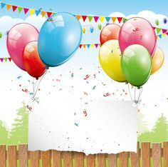 Find Colorful Birthday Background Balloons Place Text stock images in HD and millions of other royalty-free stock photos, illustrations and vectors in the Shutterstock collection. Happy Birthday Flower, Colorful Birthday, Art Birthday, Birthday Balloons, Birthday Wishes Cards, Birthday Messages, Handmade Birthday Cards, Wallpaper Infantil, Boutique Wallpaper