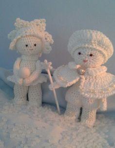Sneeuw paar