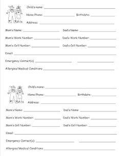 Morrow's Kindergarten: Beginning of the Year - Student Contact Information with Contact Log on the back. Beginning Of Kindergarten, Kindergarten Language Arts, Beginning Of The School Year, New School Year, Kindergarten Classroom, Kindergarten Activities, School Days, School Stuff, Preschool Curriculum