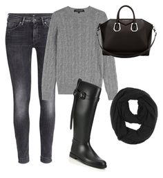"""Untitled #40"" by rae93 on Polyvore featuring H&M, Ralph Lauren Black Label, Burberry, Paula Bianco and Givenchy"