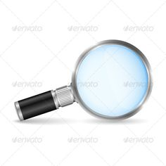 Magnifying Glass  #GraphicRiver         Small magnifying glass on white background (glass is transparent), vector EPS10 illustration     Created: 14April13 GraphicsFilesIncluded: VectorEPS Layered: No MinimumAdobeCSVersion: CS Tags: analyzing #black #circle #color #concept #design #element #equipment #exploration #glass #icon #lens #look #loupe #magnification #magnifier #magnify #magnifying #metal #metallic #object #optical #optics #research #science #scientific #scrutiny #search #solution…