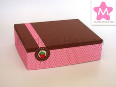 Expositor 20x25cm Strawberry & Chocolate Base em esferovite