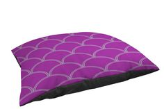 Manual Woodworkers and Weavers Indoor/Outdoor Pet Bed, Purple and Seafoam Art Deco Circles * You can find more details by visiting the image link. (This is an affiliate link and I receive a commission for the sales)