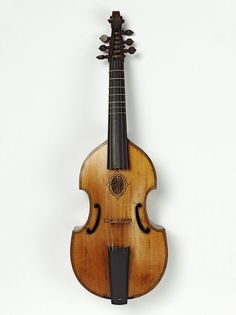 1667 English Tenor viol at the Victoria and Albert Museum, London - From the…