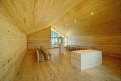 The Junquillos Chapel, located in the countryside of Southern Chile, is one well-designed church.