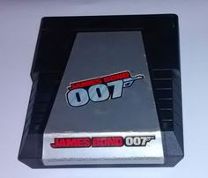Rare James Bond 007 (Atari 2600, 1983) FREE SHIPPING