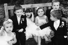 wedding kiddos: Photo by Corbin Gurkin Photography