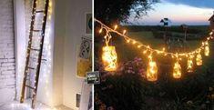 Decorare casa in modo originale con le lucette di Natale! 17 idee per ispirarvi…