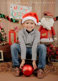 Mini sesión de Navidad en Vizualmexico  #Foto #Toluca #Metepec #Navidad #MiniSesiones #Niños #Peques #Familia #Bebés #Infantiles #Santa www.vizualmexico.com.mx